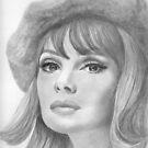 Jean Shrimpton by Karen Townsend