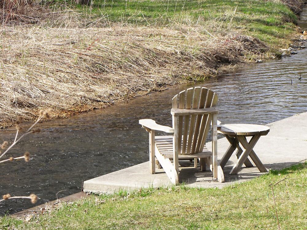 Riverside Seating by nikspix