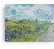 Field with Green Wheat by Vincent van Gogh Canvas Print