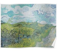 Field with Green Wheat by Vincent van Gogh Poster