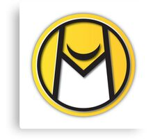Moonhawk410 // LOGO YELLOW Canvas Print