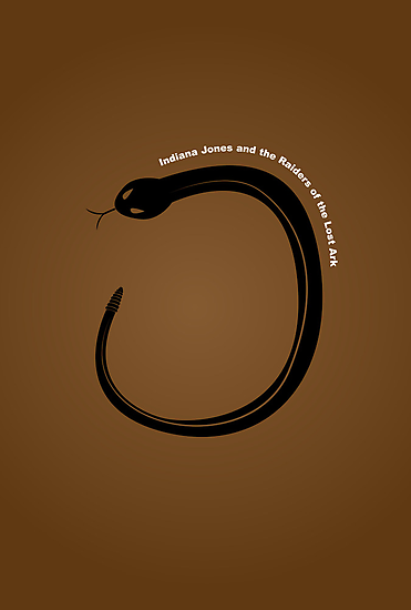 """""""Raiders of the Lost Ark"""" Minimalist Poster by Rechenmacher"""