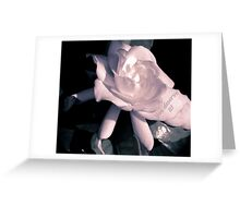 Romantic Flower Greeting Card