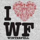 "I Love WF ""winterfell"" by tartuff"