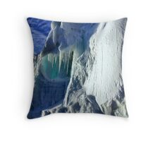 Iceberg Giant, Cape Roget, Antarctica Throw Pillow