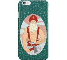 Santa Fireman iPhone Case/Skin