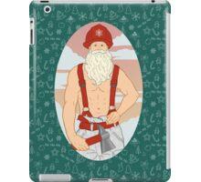 Santa Fireman iPad Case/Skin