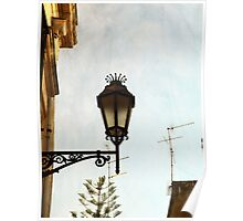 Lamp Post in Lecce Poster