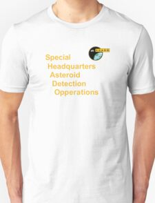 Special Headquarters ASTEROID Detection Opperations T-Shirt