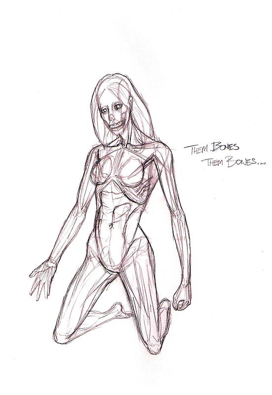 Them Bones, Them Bones... by Michael Lee