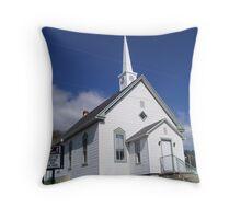 Butlers Chapel United Methodist Church Throw Pillow