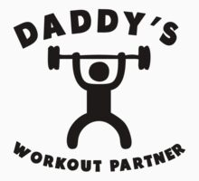 Daddy's Workout Partner Baby Tee