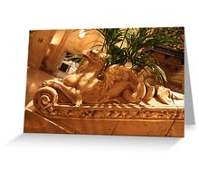 Only in LA, Biltmore Hotel, Los Angeles Greeting Card