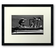 Just Cruisin Framed Print