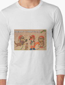 The Wildlife Christmas Long Sleeve T-Shirt