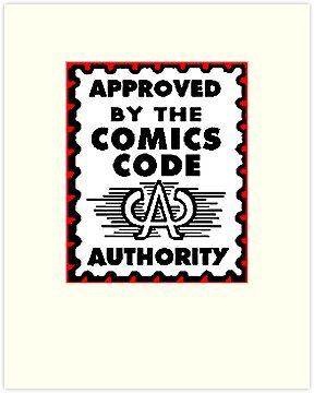 Approved by the Comics Code by dutyfreak