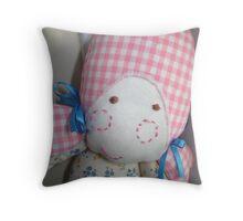 Rag Doll Throw Pillow
