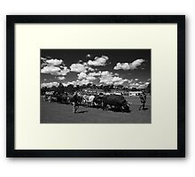 Bullock Team Framed Print
