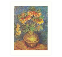 Crown Imperials in a Copper Vase by Vincent van Gogh Art Print