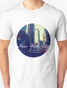 New York City Circular T-Shirt