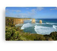 Twelve Apostles, Great Ocean Road, Vic, Australia Canvas Print
