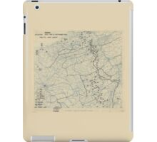 September 23 1944 World War II Twelfth Army Group Situation Map iPad Case/Skin
