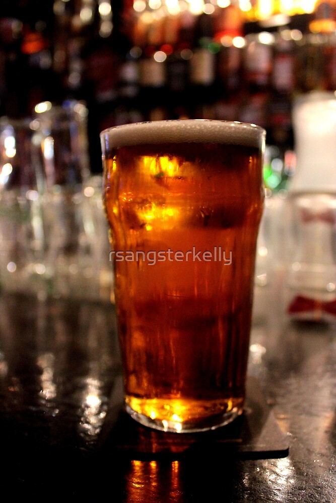 Dublin - The Temple Bar: A Pint of the Galway Hooker  by rsangsterkelly