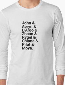 Farscape Character Names Long Sleeve T-Shirt