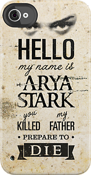 Hello, my name is Arya Stark... by ikado