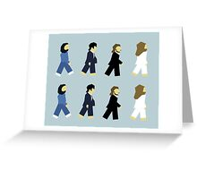Beatlemilist Greeting Card