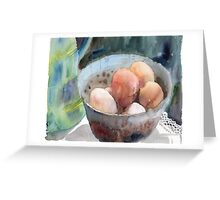 Eggs in a Bowl Greeting Card
