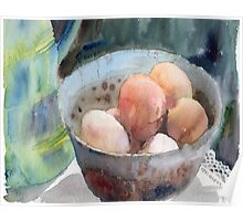Eggs in a Bowl Poster
