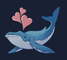 Whale Love! One Piece - Long Sleeve