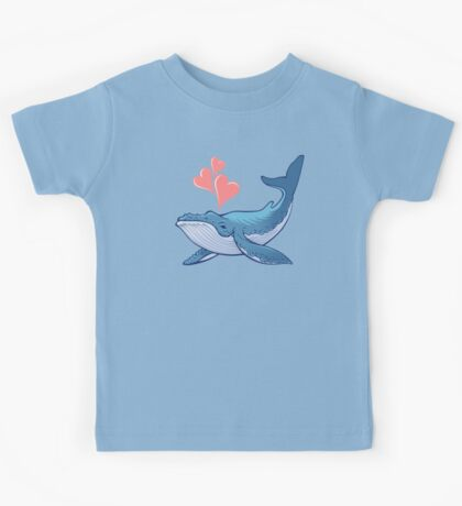 Whale Love! Kids Tee