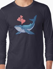 Whale Love! Long Sleeve T-Shirt