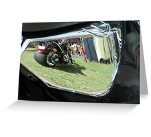 Harley Reflection Greeting Card