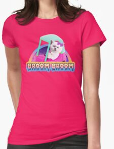 Broom Broom Womens Fitted T-Shirt