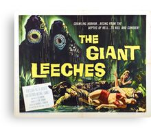 Giant Leeches Canvas Print