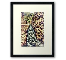 The Streets Are Flowing Framed Print