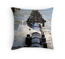 Ocean Riptide Throw Pillow