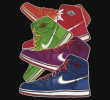 AIR JORDANS: 5 THE HARD WAY by SOL  SKETCHES™