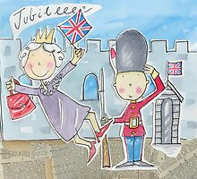 The Queen's Golden Jubilee Celebration 2012 by AndyLanhamArt