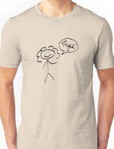 River Song- Bye! (dark outline) Unisex T-Shirt
