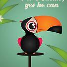 Mr Toucan by designholic