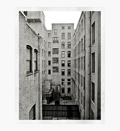 Vertigo Mono Photographic Print