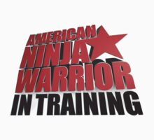 AMERICAN NINJA WARRIOR IN TRAINING Baby Tee