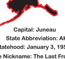 Alaska Information Sticker