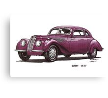 1937 BMW Car Canvas Print