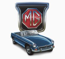 MGB in Blue by davidkyte