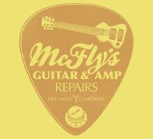 McFly's Repairs - Orange One Piece - Short Sleeve
